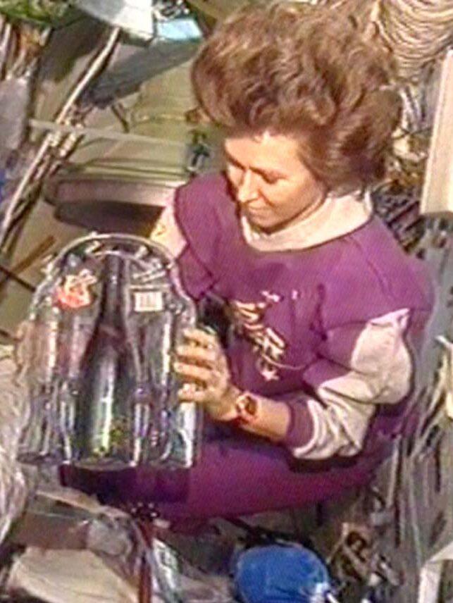 Der erste Schaumwein im Weltraum